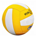 Factory private label wholesale training exercise ball custom PU standard size giant volleyball ball
