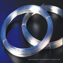 Bwg7-22 # Galvanied alambre de metal de hierro con bajo precio