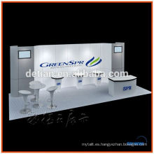 Exibition stand stand portátil cabina portátil justo diseño de stand en Shanghai