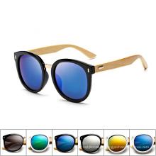 nouvelles lunettes de soleil en bambou de haute qualité en bambou 2018