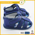 2015 exclusive new fashion design handmade fancy promotions denim baby sandals for boy