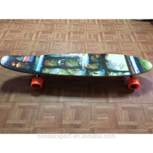 Canadian maple longboard skateboard deck complete