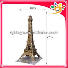35 Stück Puzzle 3D DIY Architektur Modell von EIFFEL TOWER Puzzle Puzzle, Puzzle Puzzle Papier Spielzeug