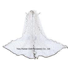 Lady Shine Stars 100% Polyester Schöner Voile Schal