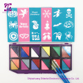 Wasbare Face Paint-kit met stencils
