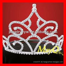 Neues Design große Diamant-Festzug Tiara, Braut-Tiara