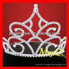 Nouveau design grand diamant tiara, tilette nuptiale