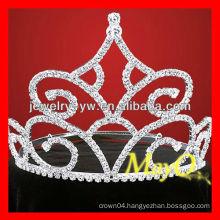 New design big diamond pageant tiara, bridal tiara