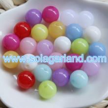 6-18 мм желе конфеты полупрозрачного Gumball бабблгам пластиковые бусины