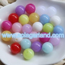 6-18MM Jelly Candy Translucent Gumball Bubblegum Plastic Beads