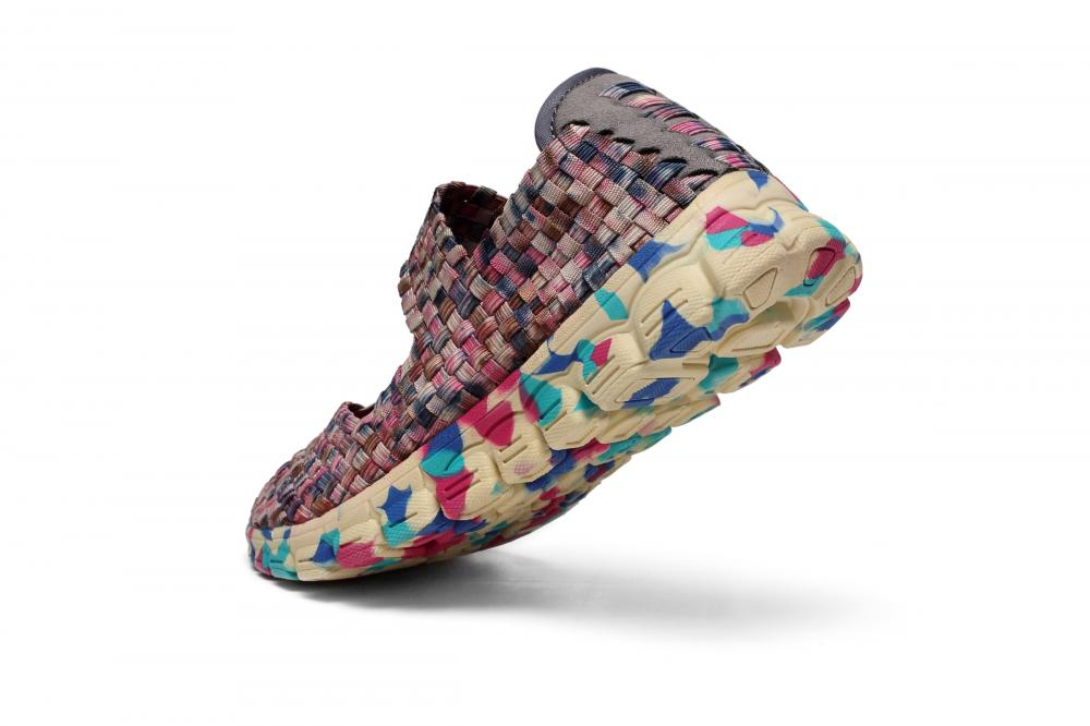 MD Kinetic Energy Soles Woven Shoes