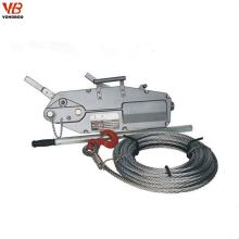 De Bonne Qualité grue de levage manuelle de câble de corde de câble de 1.6Ton
