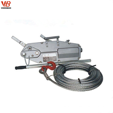 Good Quality 1.6Ton Wire Rope Cable Manual Lifting Hoist