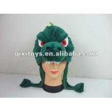 фаршированная и плюшевые животных Hat