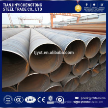 Low price ASTM a36 carbon spiral welded steel pipe/tube prices