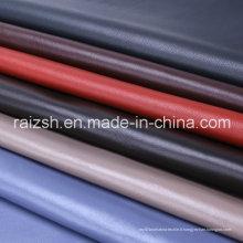 Tissu de manteau de mode coloré en peau de mouton