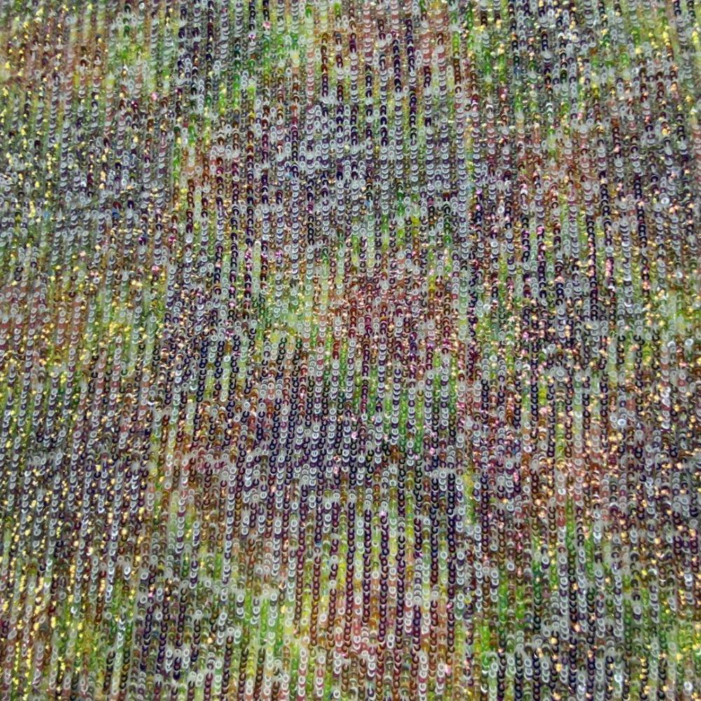 3mm Sequin Embroidery Fabric