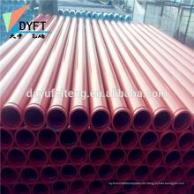 China Betonpumpe Teile 5 Zoll nahtlose Rohr Kohlenstoffstahl gehärtetes Rohr