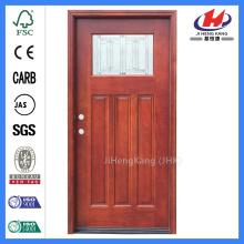 Jhk-004P-Cs White Oak Wood 4 Panel Solid Timber Door