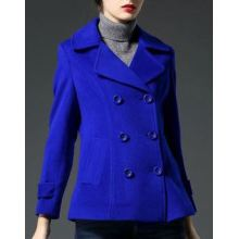 Women's Cashmere Pea Coat