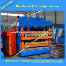 IBR roof roll forming machine/ aluminum roof panels