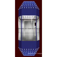SGS Approved Sightseeing Elevator (type diamant)