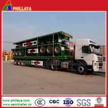 40ft Container Cimc Flachbett Behälter-Transportanhänger