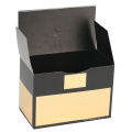 Rigid Gold Set-up Candle Paper Packaging Box