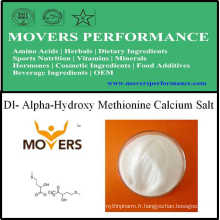 Production d'usine Acides aminés Dl- Sel de calcium Alpha-Hydroxy Methionine