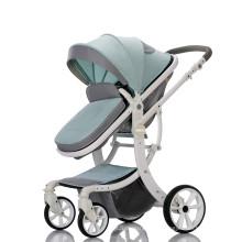 Новинка 2019 года, детская коляска 3 в 1 для детских колясок 0-3 лет со съемной корзиной для покупок