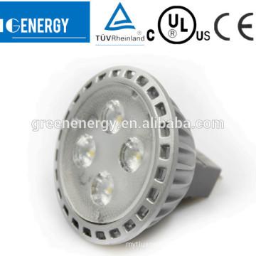 CUL TUV listed GU5.3 NEW 3W 5W 6W MR16 bright home spot LED light factory