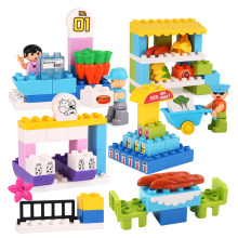Educational Construction Building Block Games Kids Gift