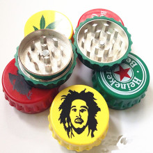 Unique Style aluminum Herb Grinder for Tobacco Smoking Wholesale (ES-GD-042)