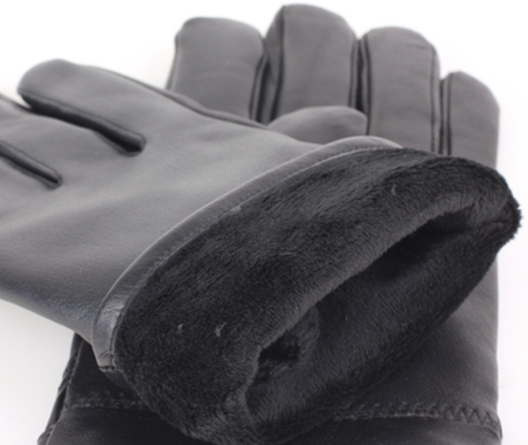 Sheepskin Windproof Gloves Inside