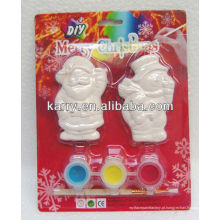 conjunto de pintura cerâmica elf natal