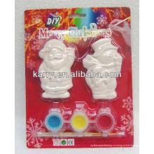 Рождественский эльф керамические краски набор