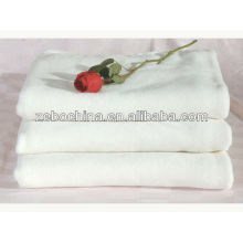 Hot selling 100 percent cotton white wholesale beach towel