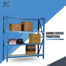 Steel heavy duty store warehouse shelf rack