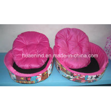 Two Sets Rose Pet Bed