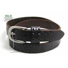 Fashion Basic Genuine Top Leather Men′s Belt Lky1206