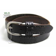 Мода Основные Подлинная Топ кожаные мужские пояса Lky1206