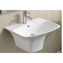 Bassin de salle de bains en céramique suspendu (5200)