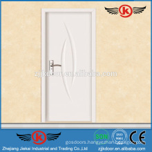 JK-P9064 Interior White Gross PVC MDF Kitchen Cabinet Doors