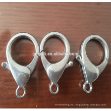 Accesorios de la joyería del corchete de la langosta del metal fundido a presión