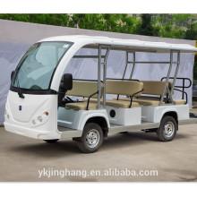14 passager elektrisches Erholungsortauto / Besichtigungsbus / touristisches elektrisches Auto