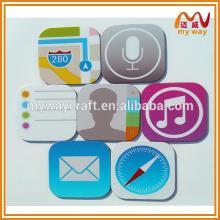 Творческий логотип iphone персонализированный магнит для туристического сувенира, семьи или подарков