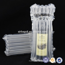 2016 Hot Sales High Quality Air Cushion Protective Packaging Air Column Bag Bubble Packaging for wine bottle packaging bags