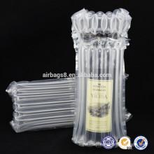 2016 hot vendas alta qualidade almofada de ar embalagem ar coluna saco bolha embalagem protectora para sacos de embalagens de garrafa de vinho
