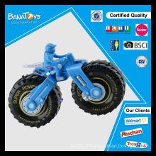 Alta velocidade de roda grande fricção brinquedos miúdos motocicleta elétrica