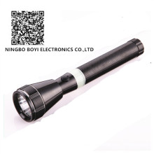 Rechargeable Super Bright CREE 3W LED Metal Flashlight
